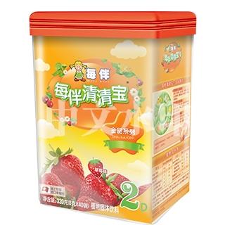每伴清清宝金品罐装草莓味(2)
