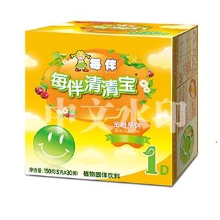 每伴清清宝金品盒装原味(1)