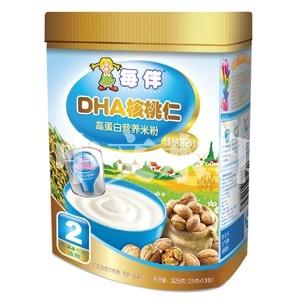 每伴DHA核桃仁佳倍米粉