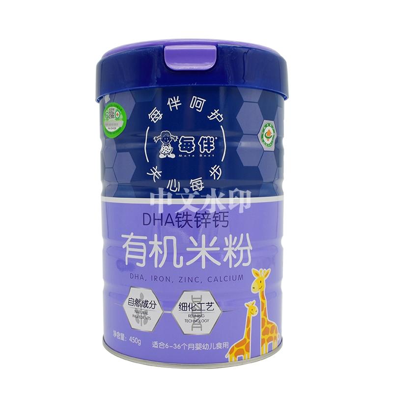 DHA铁锌钙有机米粉