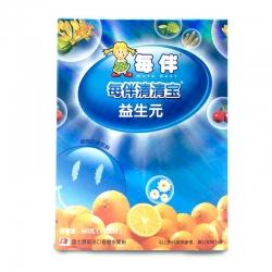 新品每伴清清宝香橙味+益生元