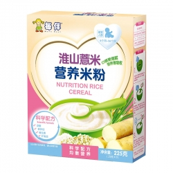 每伴淮山薏米营养米粉